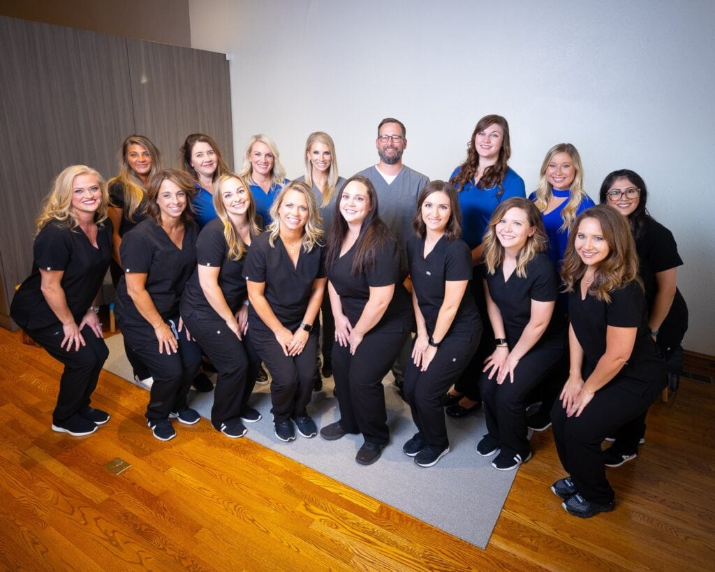 Group-Portraits-Kanning-Orthodontics-2020-Kansas-City-Missouri-Orthodontist-10-1024x819 Kanning Orthodontics - The Kanning Orthodontics Team