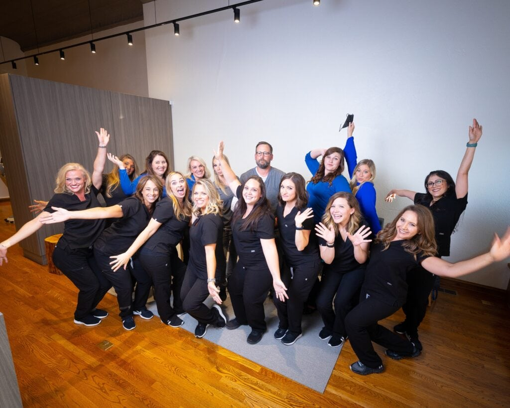 Group-Portraits-Kanning-Orthodontics-2020-Kansas-City-Missouri-Orthodontist-14-1024x819 Kanning Orthodontics - The Kanning Orthodontics Team